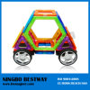 Plastic Connecting Magnetic Cars Shapes Toy