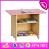 2015 New Design Cheap Home Work Table Study Table, Cheap Wooden Toy Table for Children, High Quality Wooden Study Table W08g023