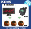 CE Approved 433.92MHz Wireless Restaurant Table Call System
