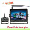 "7"" Wireless Bus Rear View System with Night Vision Camera"