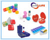Multicolors and Different Shapes Weekly Plastic Medical Pill Boxes Cases