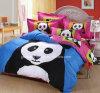 Cute Soft Panda Cartoon Cotton Queen Size Bedding Set (GT-09718)