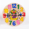 Children Letter Clock Wooden Puzzles for Age 3+