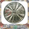 Best Sales Silver Color Brass Token Coin