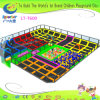 Superboy Kids Playground Trampoline with Foam Pits and Foam Blocks