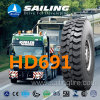 Heavy Duty Tubed Bus All Steel Radial Tyre Tire