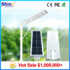 Best Price All in One Solar LED Street Light 6W, 9W, 12W, 15W, 18W, 30W, 40W, 60W, 80W, 100W with Monocrystalline Solar Panels