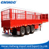 China Storage Cattle Transport Stake Cargo Truck Semi Trailer