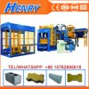Qt10-15 Hydraulic Pressure Cement Brick Making Machine Curbstone Block Machine