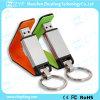 Superb Leather USB Stick with Keychain (ZYF1401)