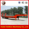 3 Axles Low Bed Semi Trailer for Machines Transport
