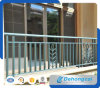 Exterior Aluminium Balcony Balustrade / Decorative Galvanized Wrought Iron Balcony Railing