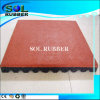 New Design Certificated Outdoor Bright Color Rubber Flooring