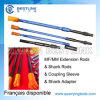 T45 Male/Female Hexagon Round Speed Drill Rod