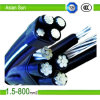 1kv XLPE/PVC Insulation, ACSR Conductor ABC Aerial Bunch Cable