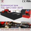 1000W High Power Fiber Laser Cutting Machine for 3000*1500 Processing Scale