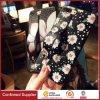 Girls Floral Pattern Anti-Slip Soft TPU Case with Kickstand Holder