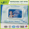 Antibacterial Baby Wet Tissues Fragrance Scented Organic Baby Wipes