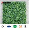 Factory Direct Sale Garden Fresh PE Artificial Plastic Fence Leaf Hedges