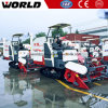Rubber Track 4lz-4.0e Rice Lodging Combine Harvester Prices List