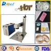 20W Portable Fiber Laser Marking Maachine Laser Marker Rotary Device