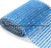 Crystal Stick Rhinestone Hot Fix Rhinestone Back Sticker Mesh Rhinestone Accessories DIY (TP-084blue)