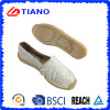 Fashion Flat and Comfortable Espadrilles Women Shoes with Diamond (TN36720)