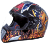 High Quality Flame Helmet for Motorcycle Parts