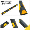 Rubber Wheel Stopper with Yellow Reflective Tape (S-1505)