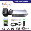 Best Equipment Ballast 315W CMH Dimmable Ballast with Grow Light Reflector Hood/315W CMH Bulb for Hydroponics System