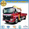 Auman 3 Axles 10 Tons Truck with Crane for Sale