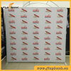Tension Fabric Frameless Advertising Display Stand/Waveline