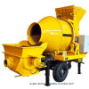 Diesel Mobile Concrete Mixer with Pump