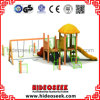 Wooden Style Children Playground Equipment with Swing and Slide