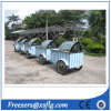 Ice Cream Push Carts /Gelato Showcase Freezers for Sale