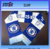 Wholesale Custom Logo Soccer Fans Knit Scarf