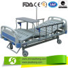 Two Functions Hospital Medical Iron Bed (CE/FDA/ISO)