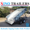 Australian Style Hydraulic Fully Welded Tipping Trailer