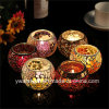 Glass Mosaic Tealight Candle Holder