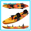 3 Person Sit on Top Kayak Fishing Boat for Sale Plastic Canoe