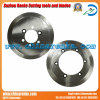 Round Carbide Corrugated Paper Machine Knives Cardboard Cutting Blades