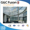 Aluminum Exposed Frame Glass Curtain Wall Drawing