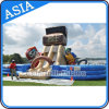 Cheap Inflatable Treasure Caribbean Pirate Obstacle Course for Party Rental