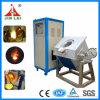 IGBT Crucible Melting Furnace for Smelting 50kg Copper Bronze Brass (JLZ-45)