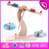 2016 Brand New Wooden Balance Game, Pretend Play Wood Balance Toy, Kids′ Balance Toy, Preschool Wooden Balance Toy W11f054