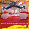 Christmas Decoration Snowman Arch for Celebration (AQ53149)