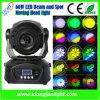 75W Mini LED Moving Head Spot Light for Disco, DJ Lighting