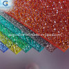 2.3/2.7mm Polycarbonate Sheet Small Embossed Rain Drop and Diamond Sheet