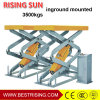 3.5t Full Rise Scissor Design Garage Vehicle Lift