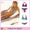 2016 Europe American Style Fashion Retro Ethnic Print Sexy Strappy Tankinis Swimsuit